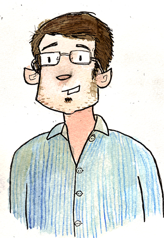 Autoportrait de Fal en Lutin